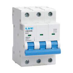 LIVE CC306C 3 Pole 6 Amps C curve 10kA Miniature Circuit Breaker