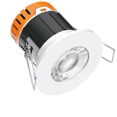 E5™ Fixed 4.5W Dimmable Fire Rated Downlight 3000K Warm White