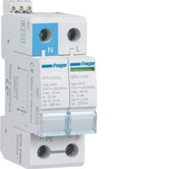 Surge Protection LIVE & HAGER