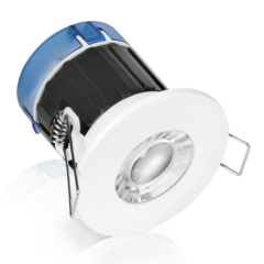 Aurora A4™ Fixed 4W Dimmable Fire Rated Downlight 3000K