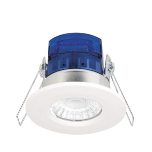 Aurora AU-X7/40 7W LED Cool White 4000K Dimmable Downlight White Bezel Included