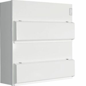 Hager Dual Row 6+6 Way 100A Main Switch Consumer Unit