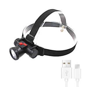 USB Rechargeable ABS 120 LED Headlamp