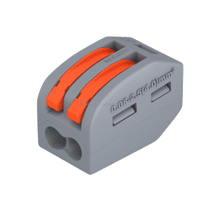 2 Pole Lever Splicing Connector 32A 400V