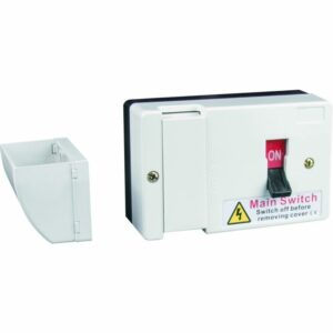 Live Electrical Switcfuse With 80 & 100A Fuse Plus Shroud LFIS100